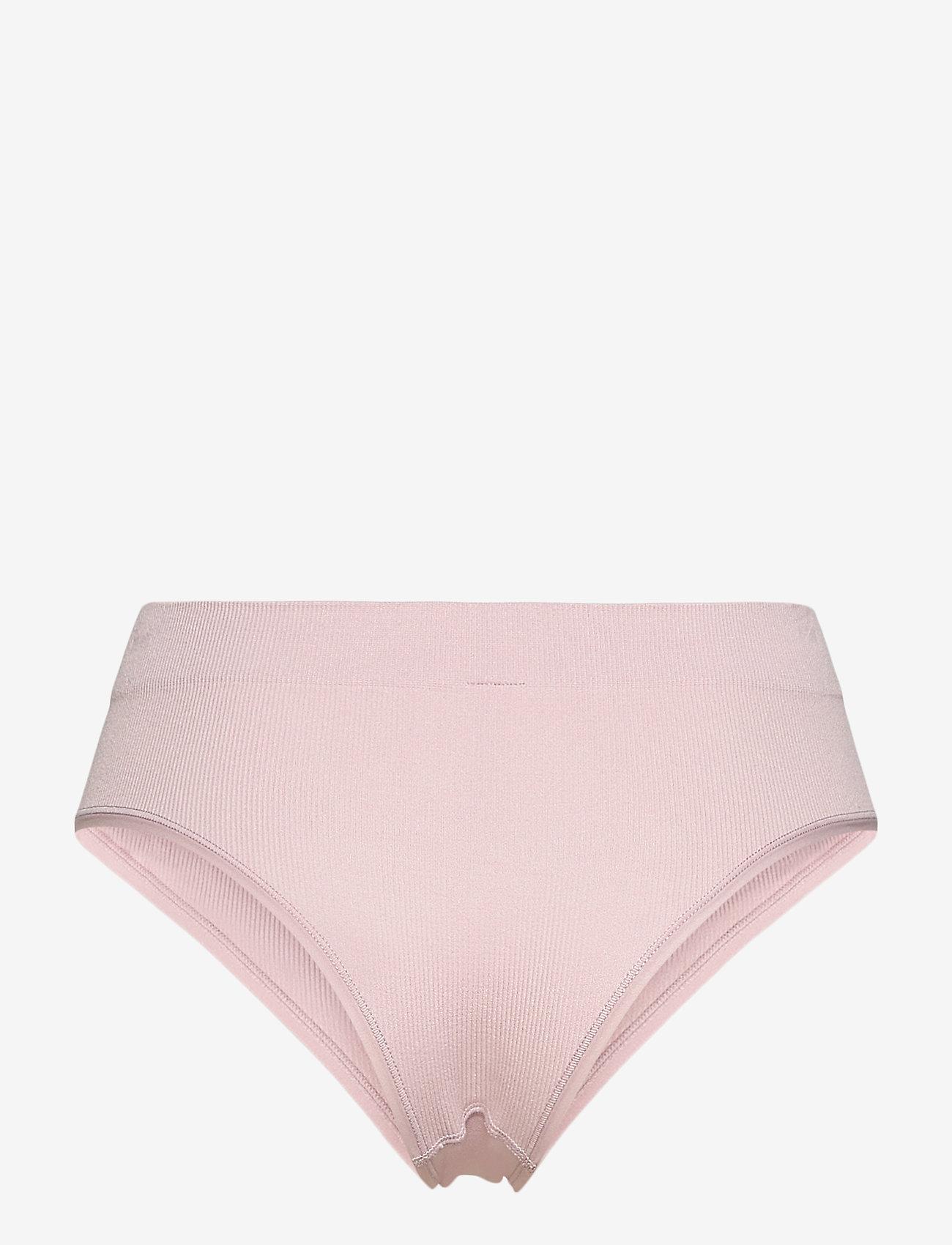 Lindex - Brief  Brazi High Seamless Rib - broekjes - pink - 1