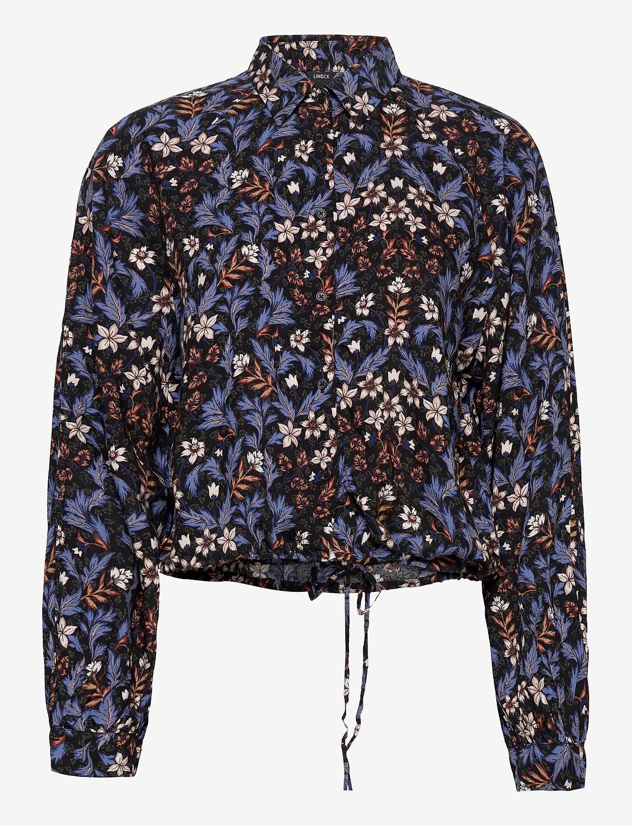 Lindex - Blouse Madagaskar - blouses à manches longues - blue - 0
