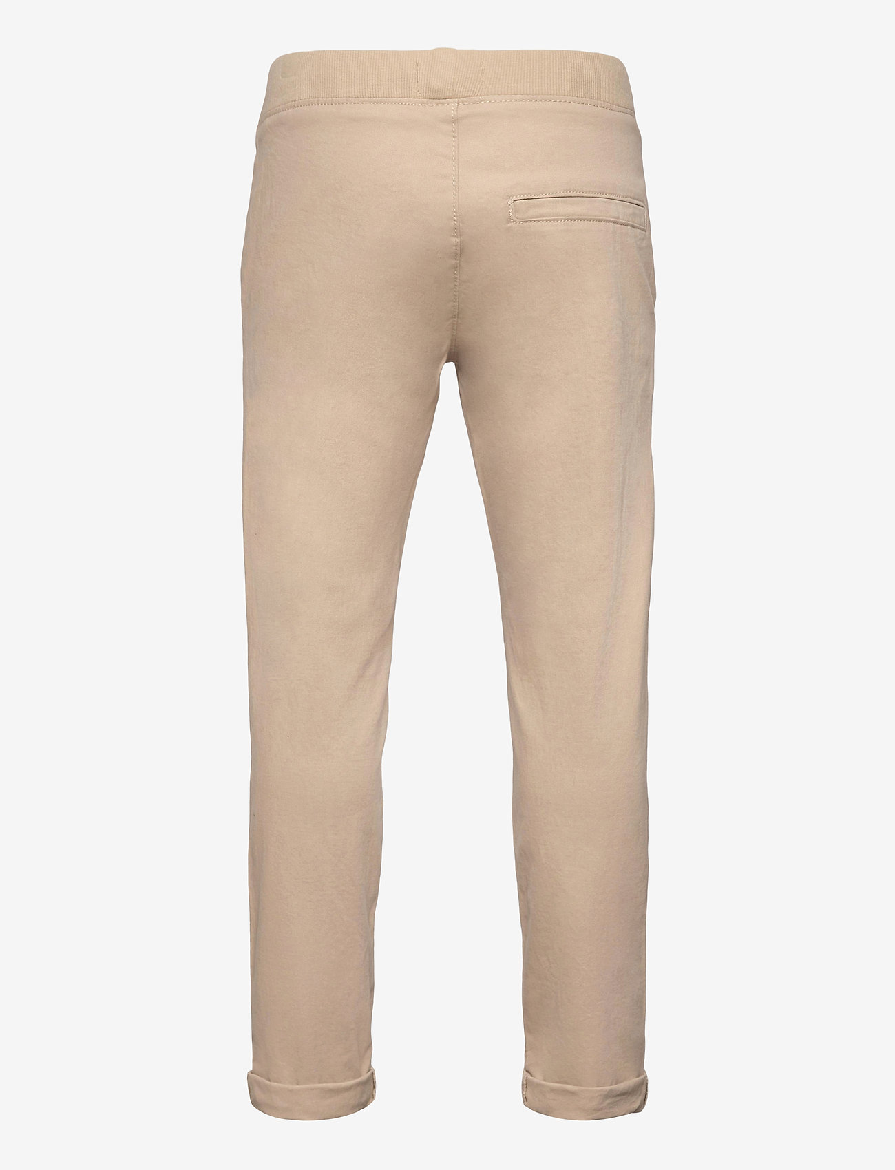 Lindex - Trousers Twill - trousers - beige - 1