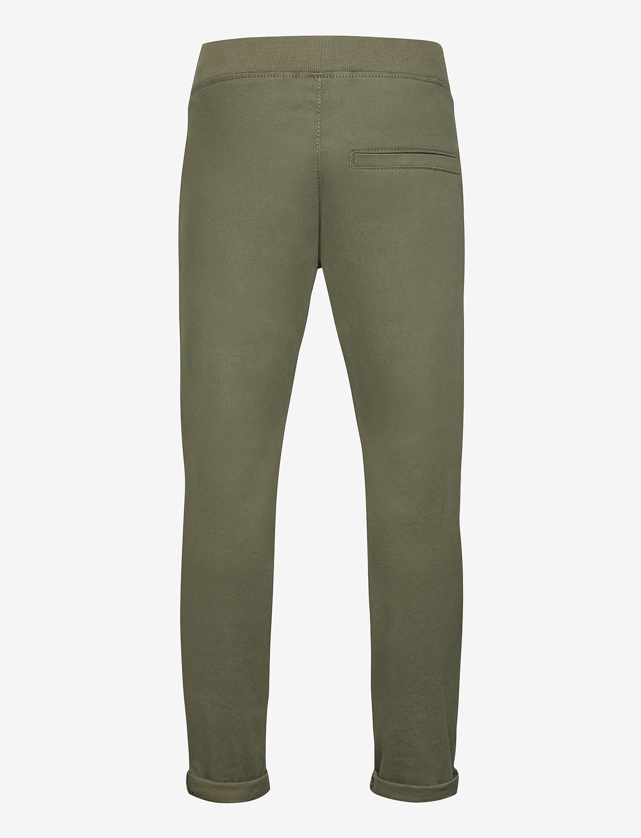 Lindex - Trousers Twill - trousers - green - 1
