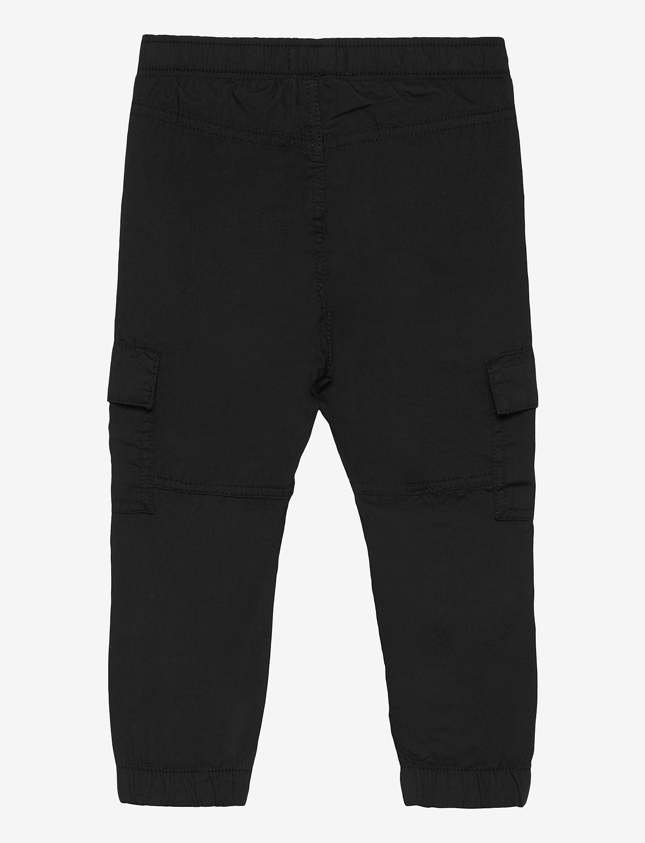 Lindex - Trousers Pelle cargo - trousers - black - 1