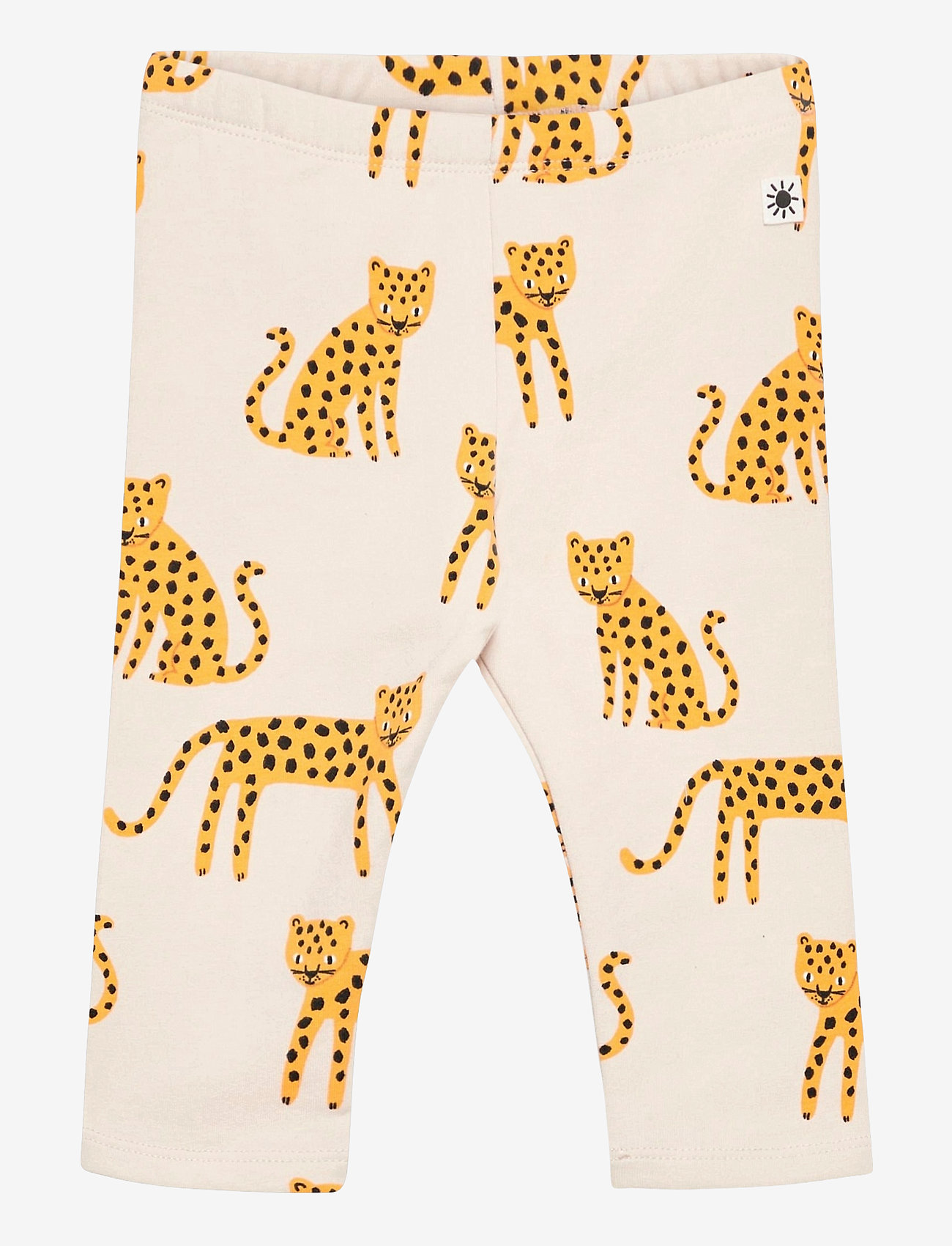 Lindex - Leggings Leo animal aop - leggings - beige - 0
