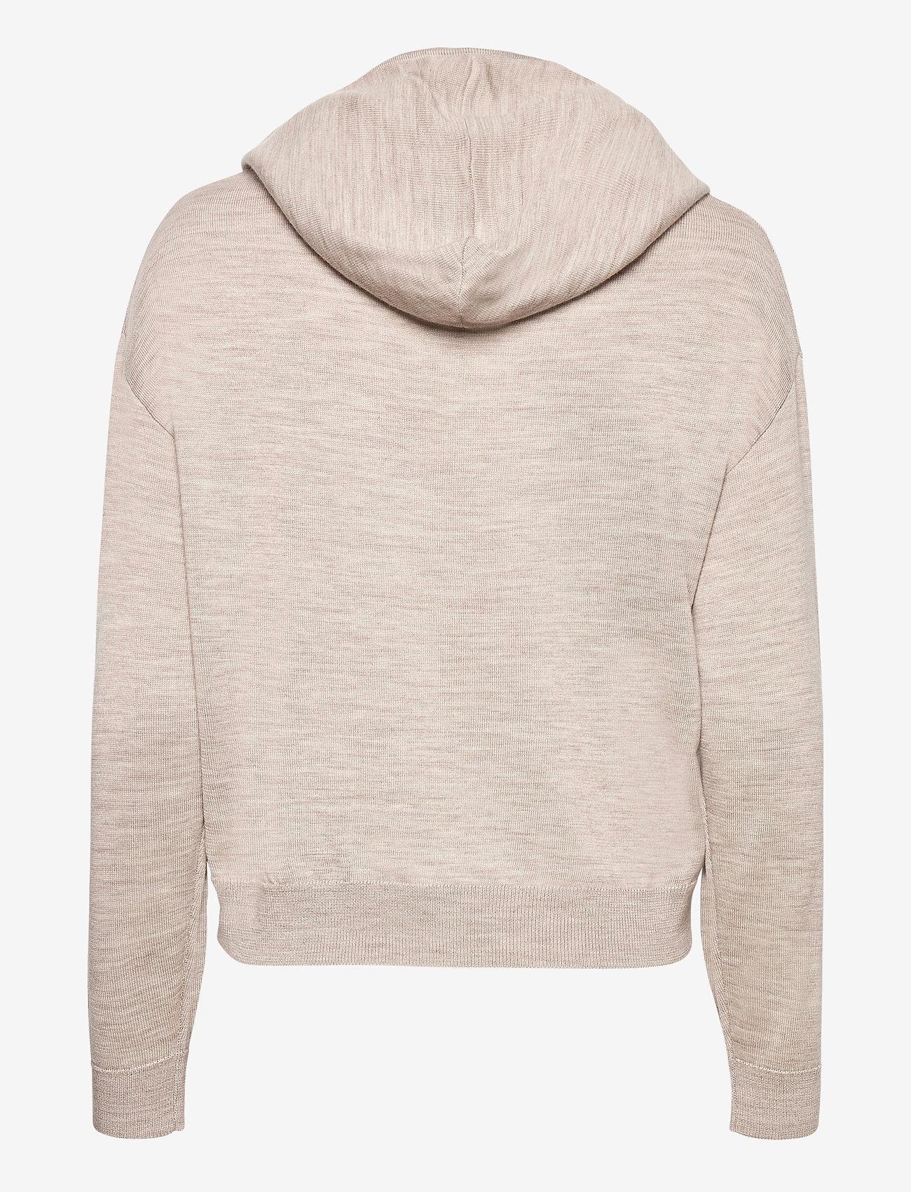 Lindex - Sweater Angie - hættetrøjer - beige - 1