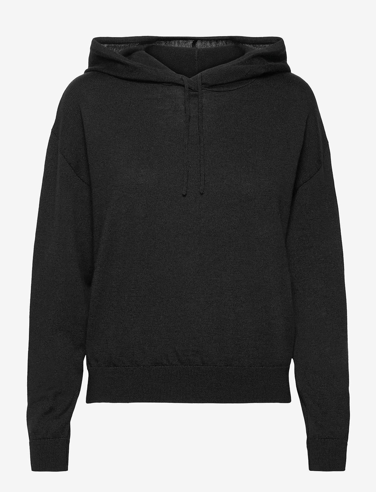 Lindex - Sweater Angie - pulls à capuche - black - 0
