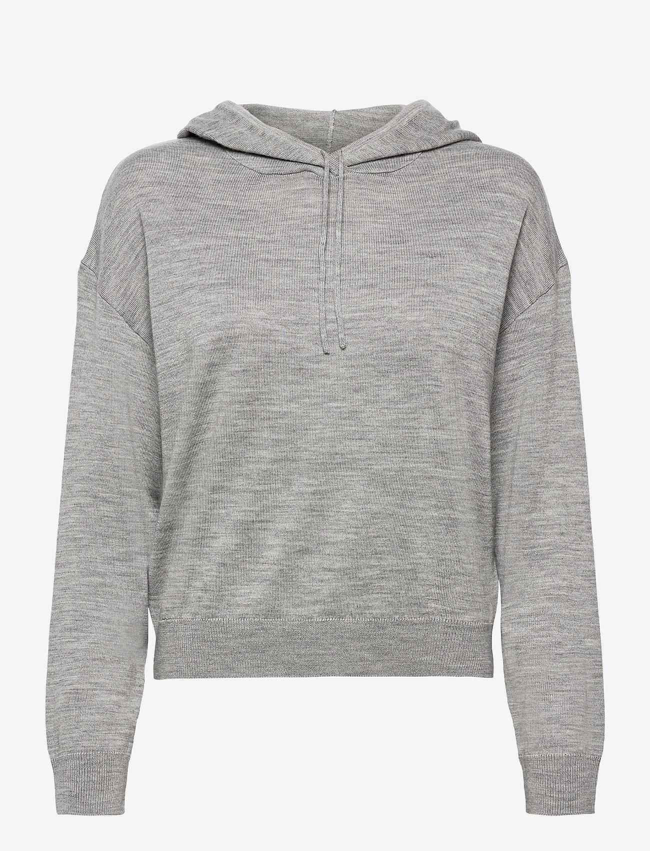 Lindex - Sweater Angie - hættetrøjer - grey - 0