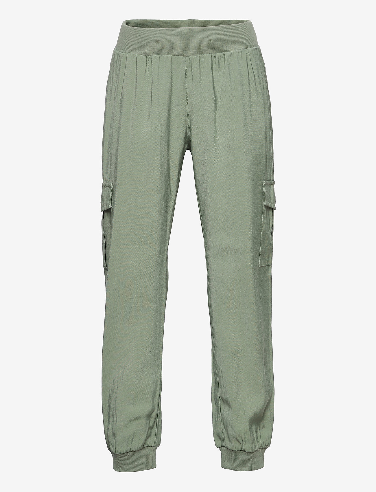 Lindex - Trousers Arlene2 - trousers - khaki - 0
