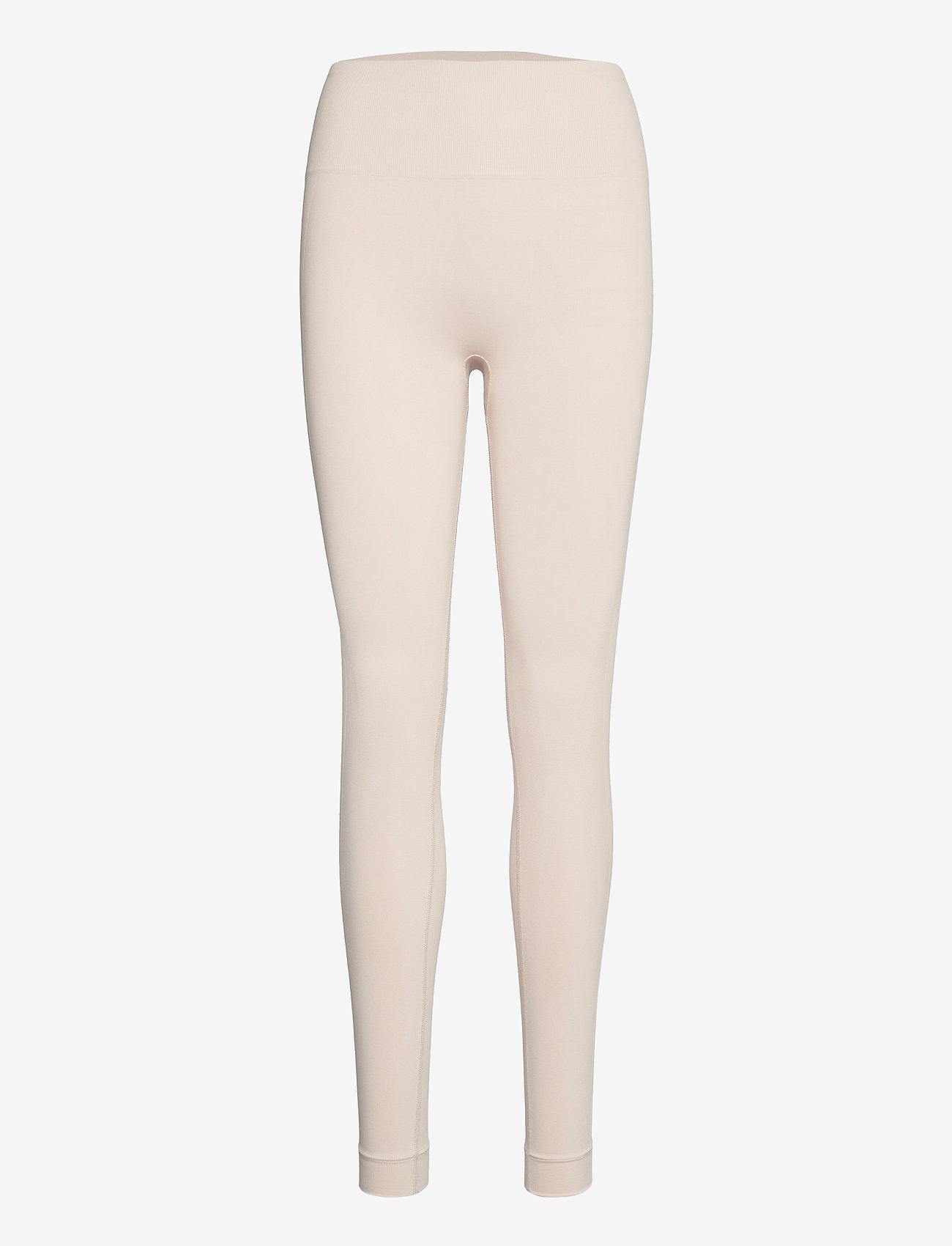 Lindex - Leggings Ella Seamless - leggings - beige - 0