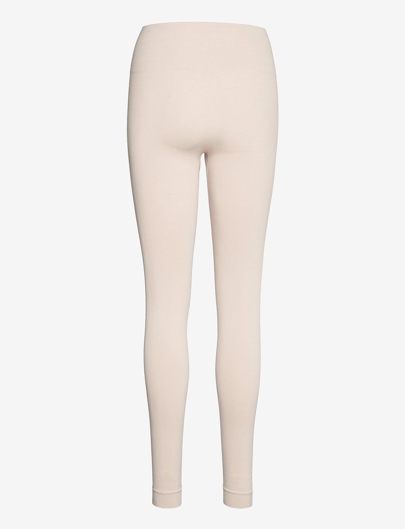 Lindex - Leggings Ella Seamless - leggings - beige - 1