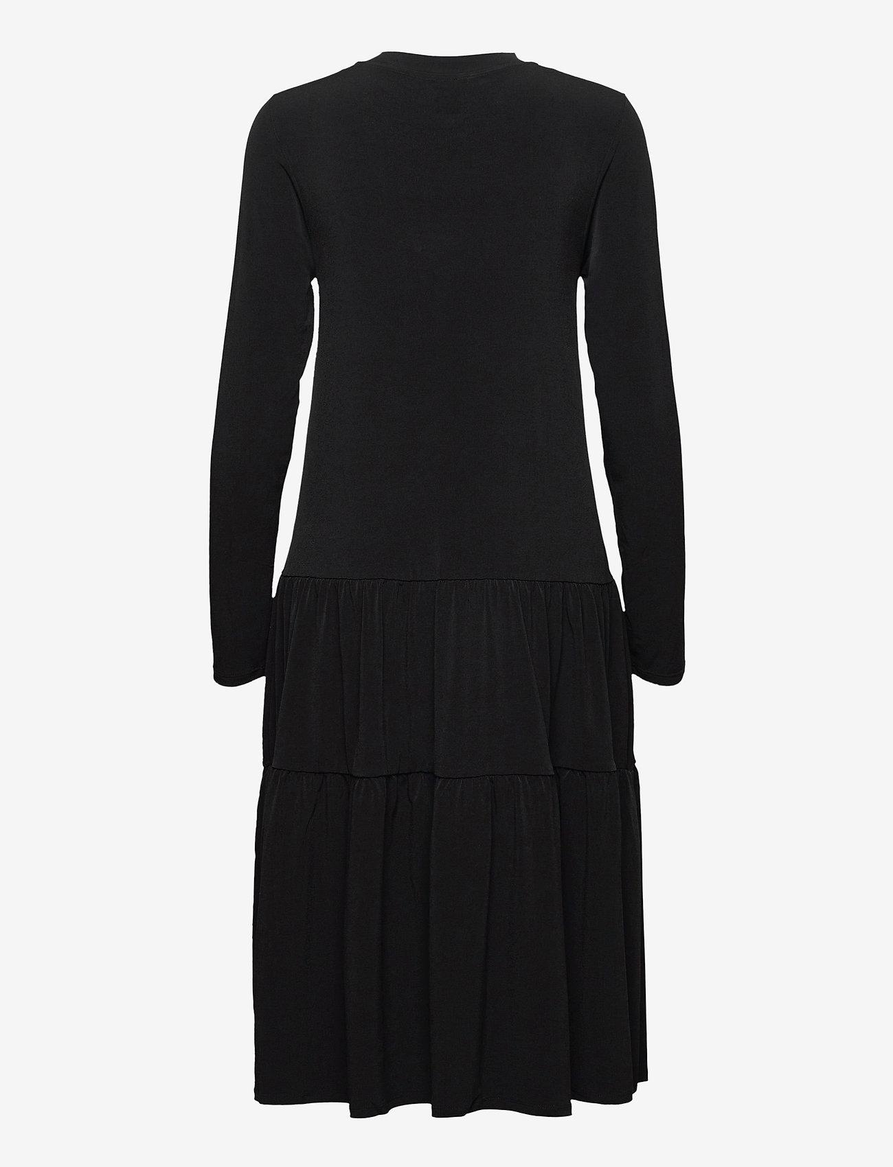 Lindex - Dress Isa Flosh - robes d'été - black - 1