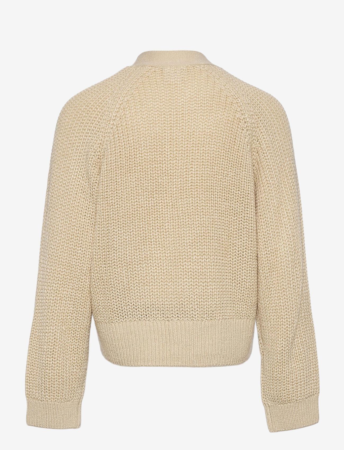 Lindex - Cardigan Dafne - gilets - beige - 1