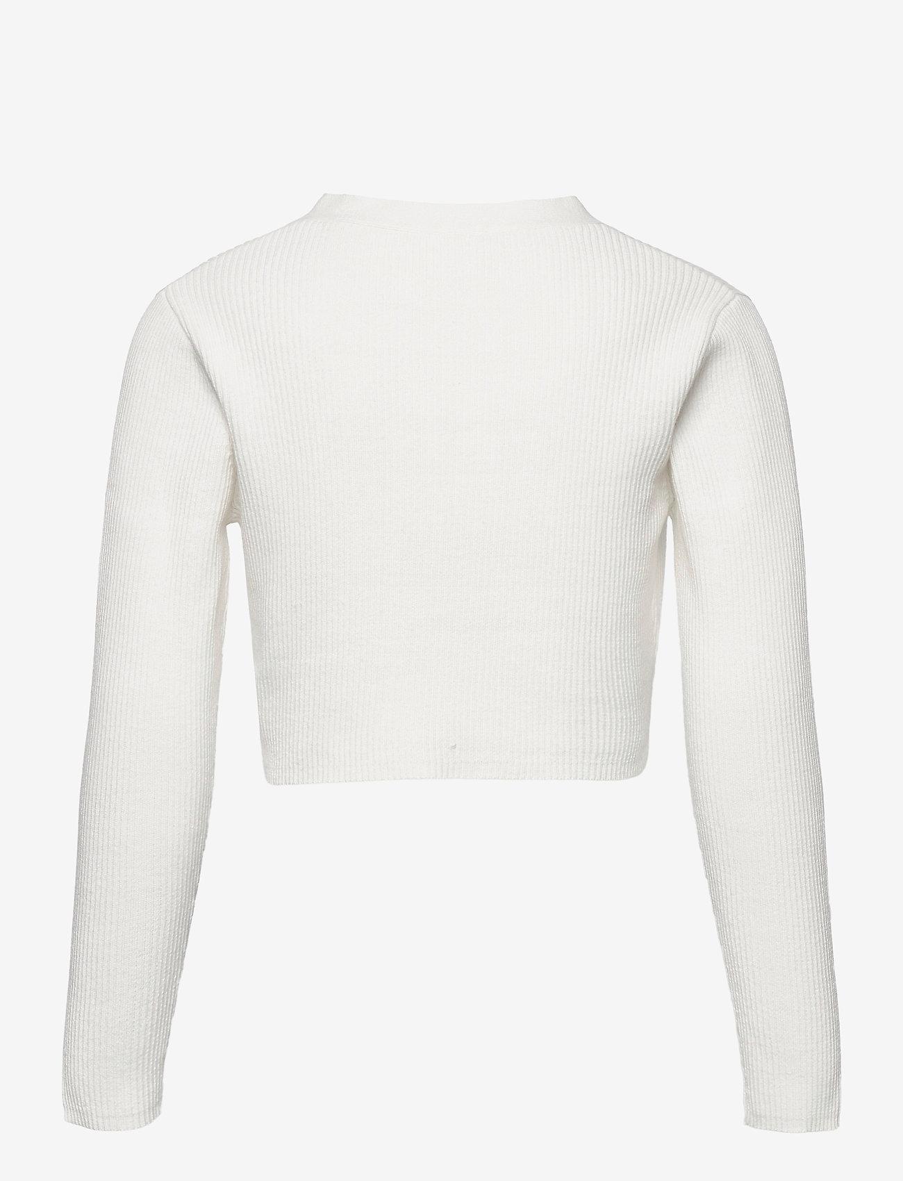 Lindex - Cardigan Sun - gilets - white - 1