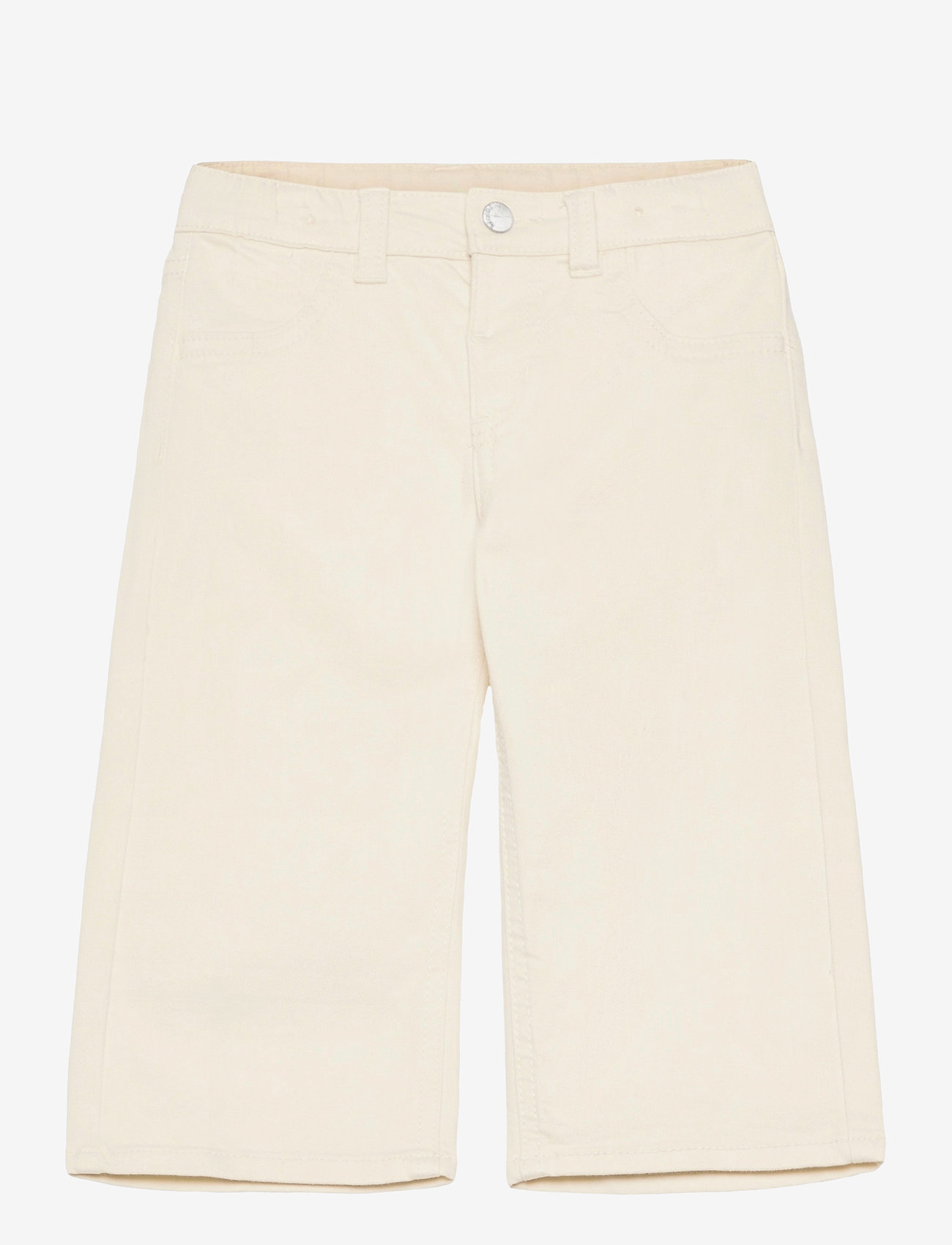 Lindex - Trousers twill Annie - trousers - beige - 0