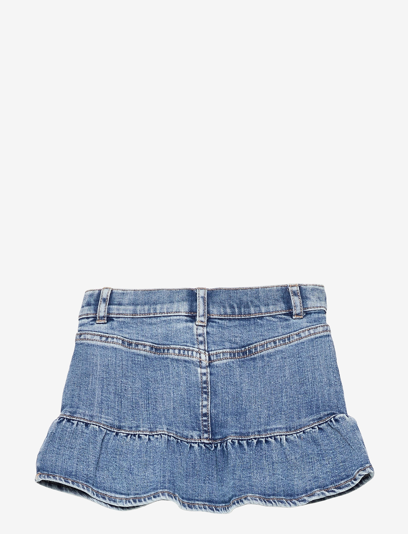 Lindex - Skirt denim Wilma - röcke - blue - 1
