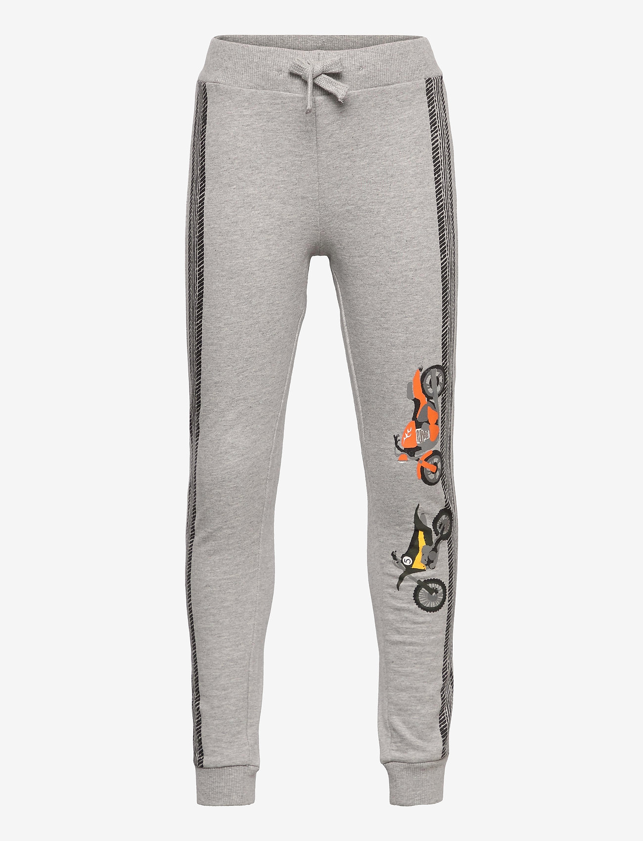 Lindex - Trousers motor place grey - trousers - grey - 0