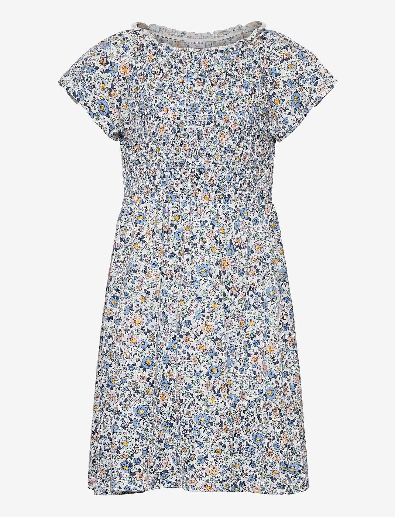 Lindex - Dress smock chest - kleider - white - 0