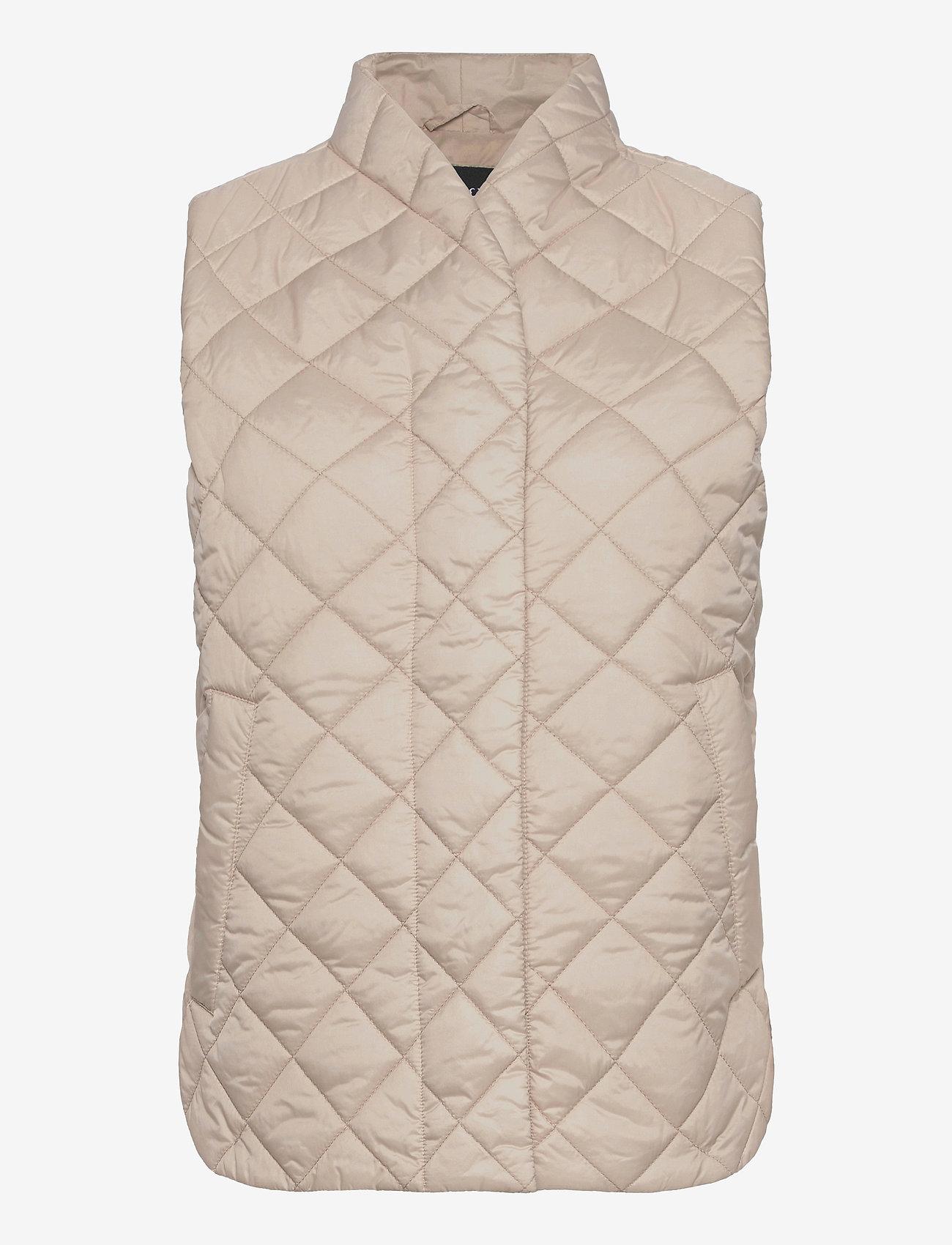Lindex - Vest Vendela - puffer vests - beige - 0