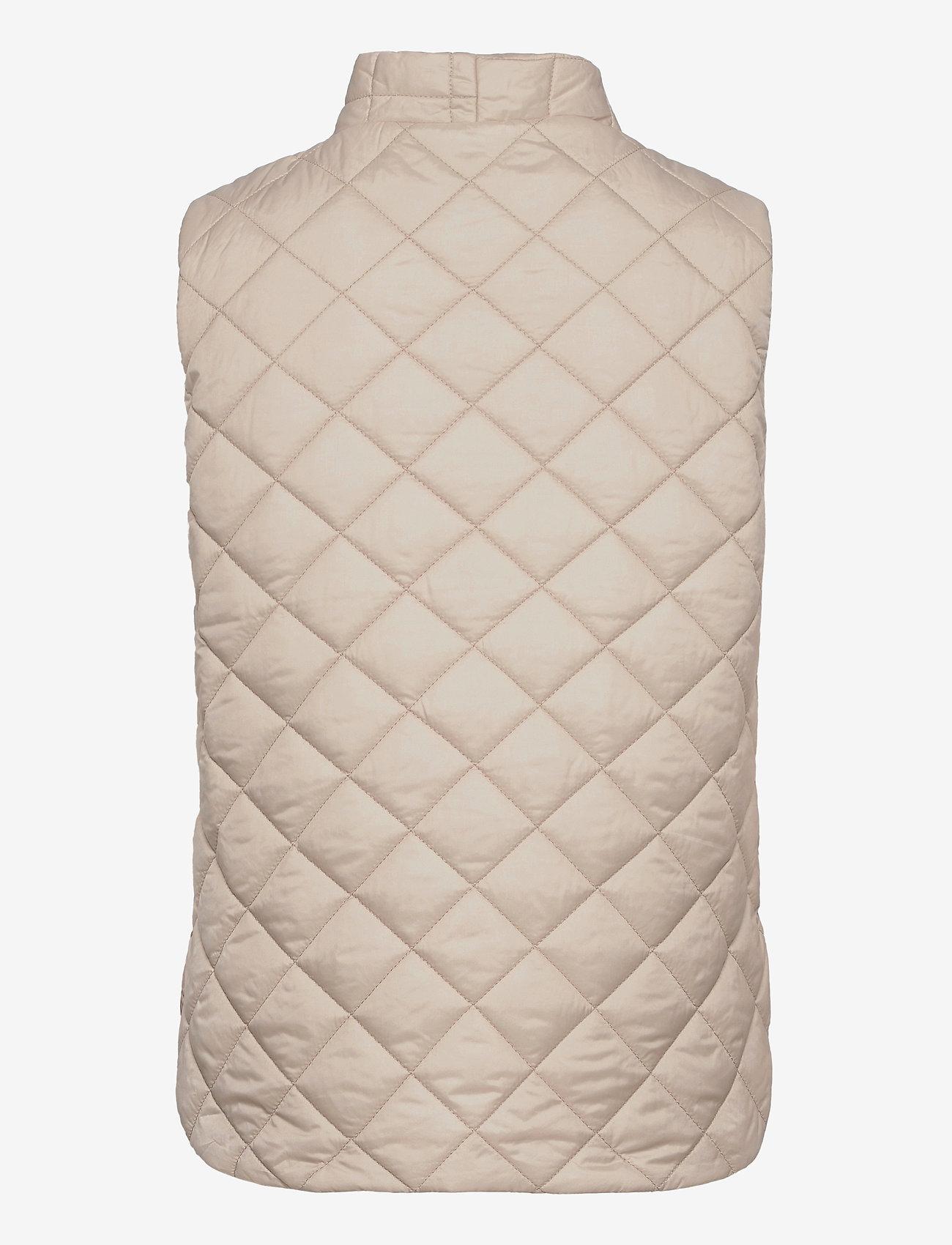 Lindex - Vest Vendela - puffer vests - beige - 1