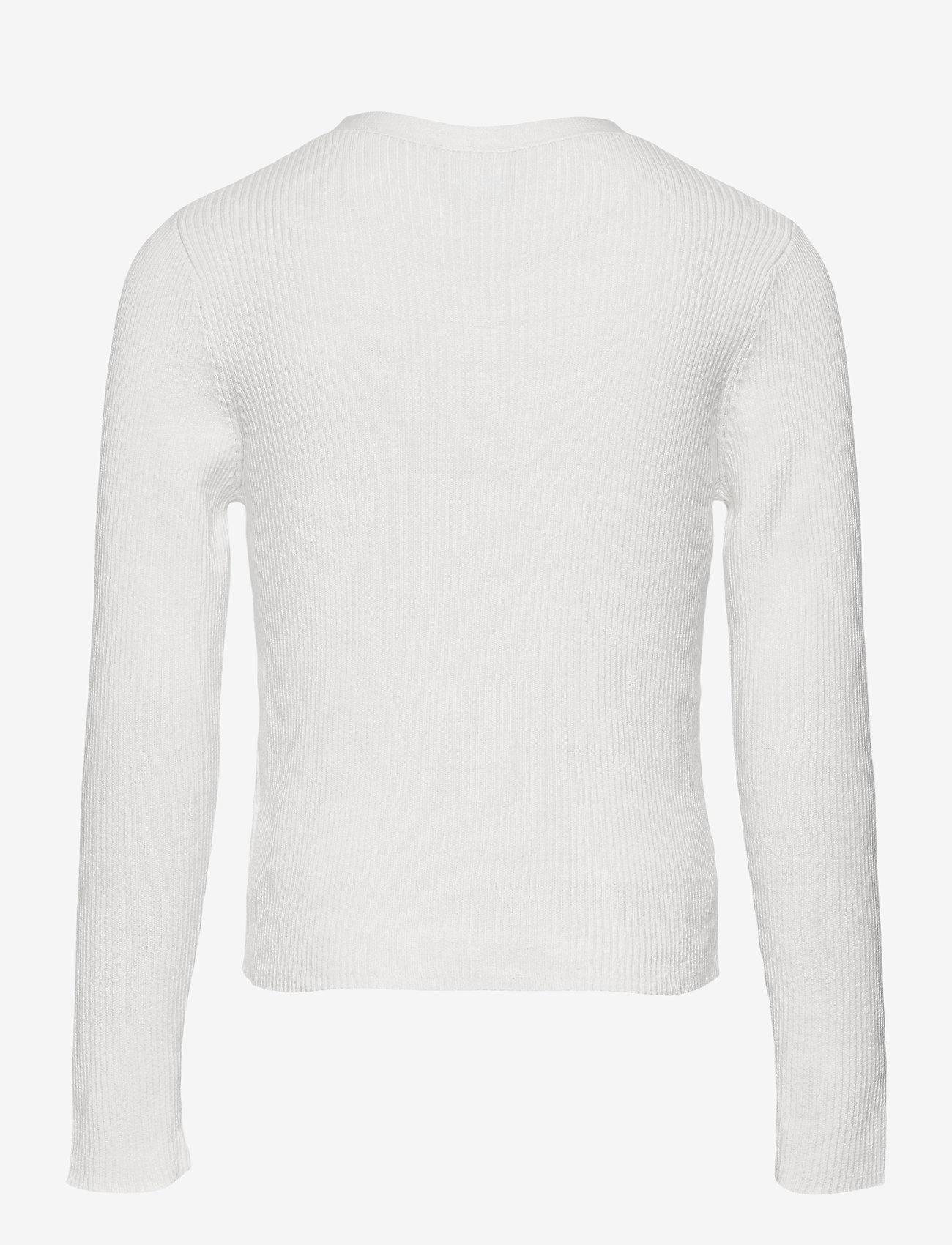 Lindex - Cardigan Vneck - gilets - white - 1
