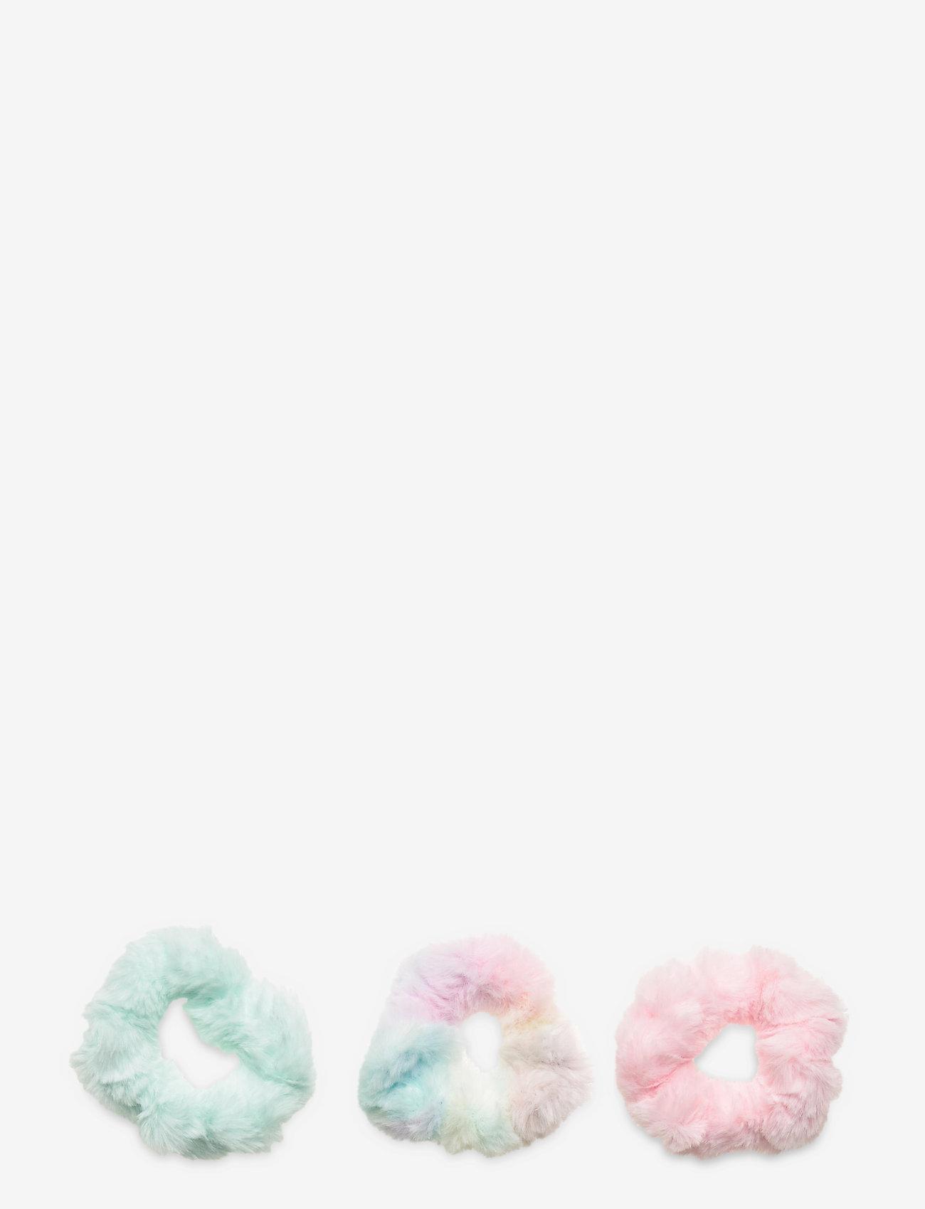 Lindex - Hair elastic scrunchies fur ra - haar accessoires - pink - 0