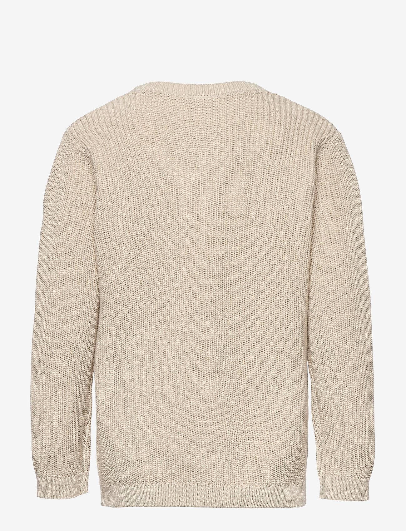 Lindex - Cardigan Patent knit - gilets - beige - 1