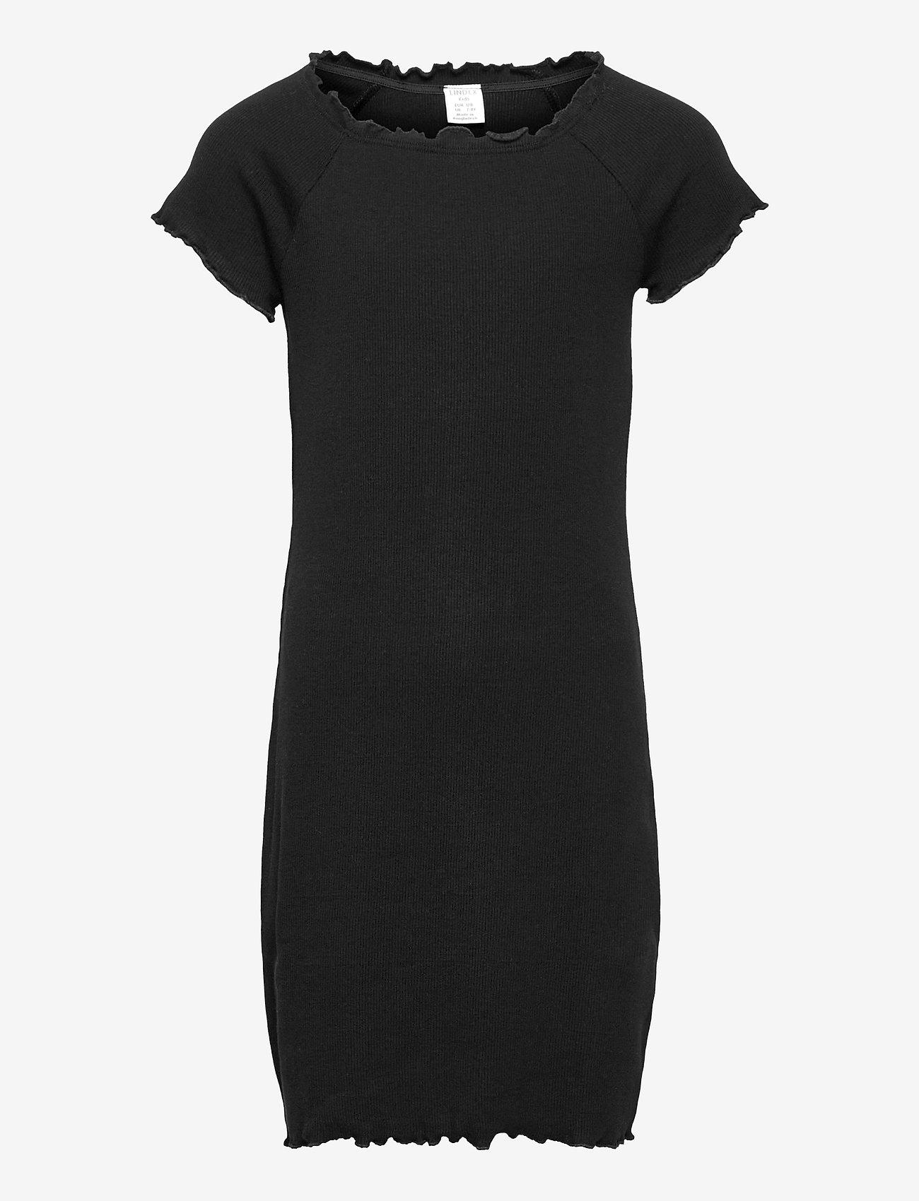 Lindex - Dress Stina - kleider - black - 0
