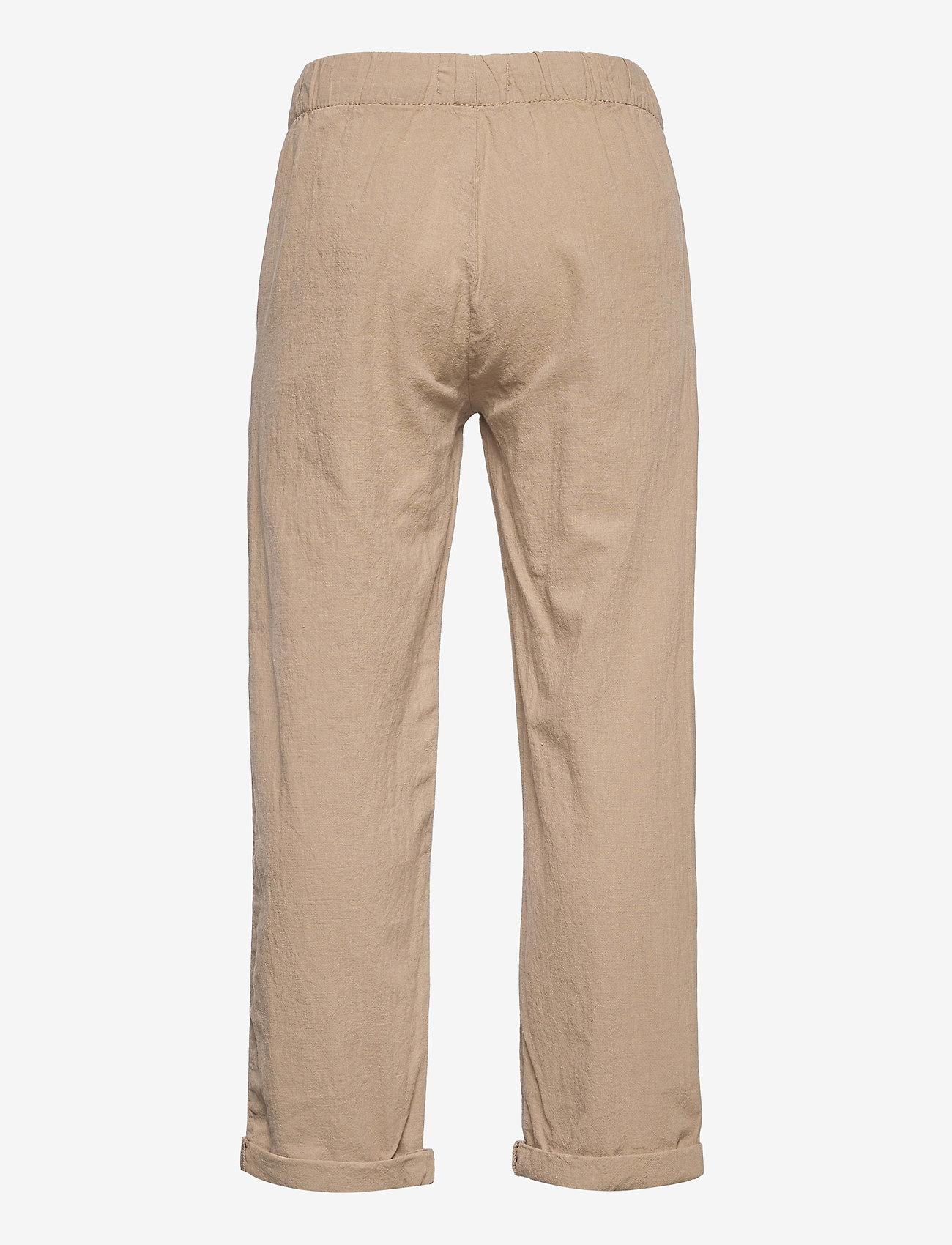 Lindex - Trousers Linnen - trousers - beige - 1