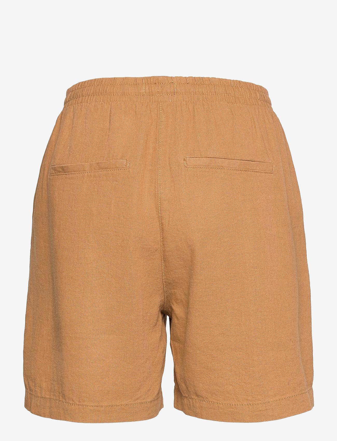 Lindex - Shorts Gillian linen - shorts casual - beige - 1