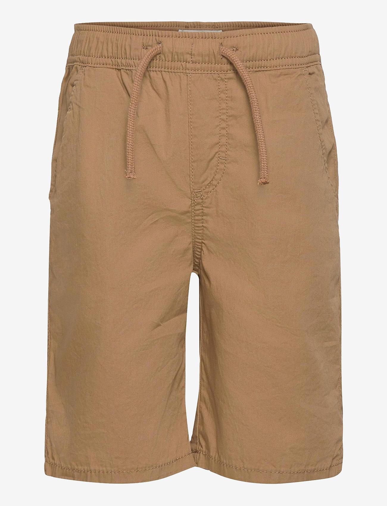 Lindex - Shorts Summer poplin - shorts - khaki - 0