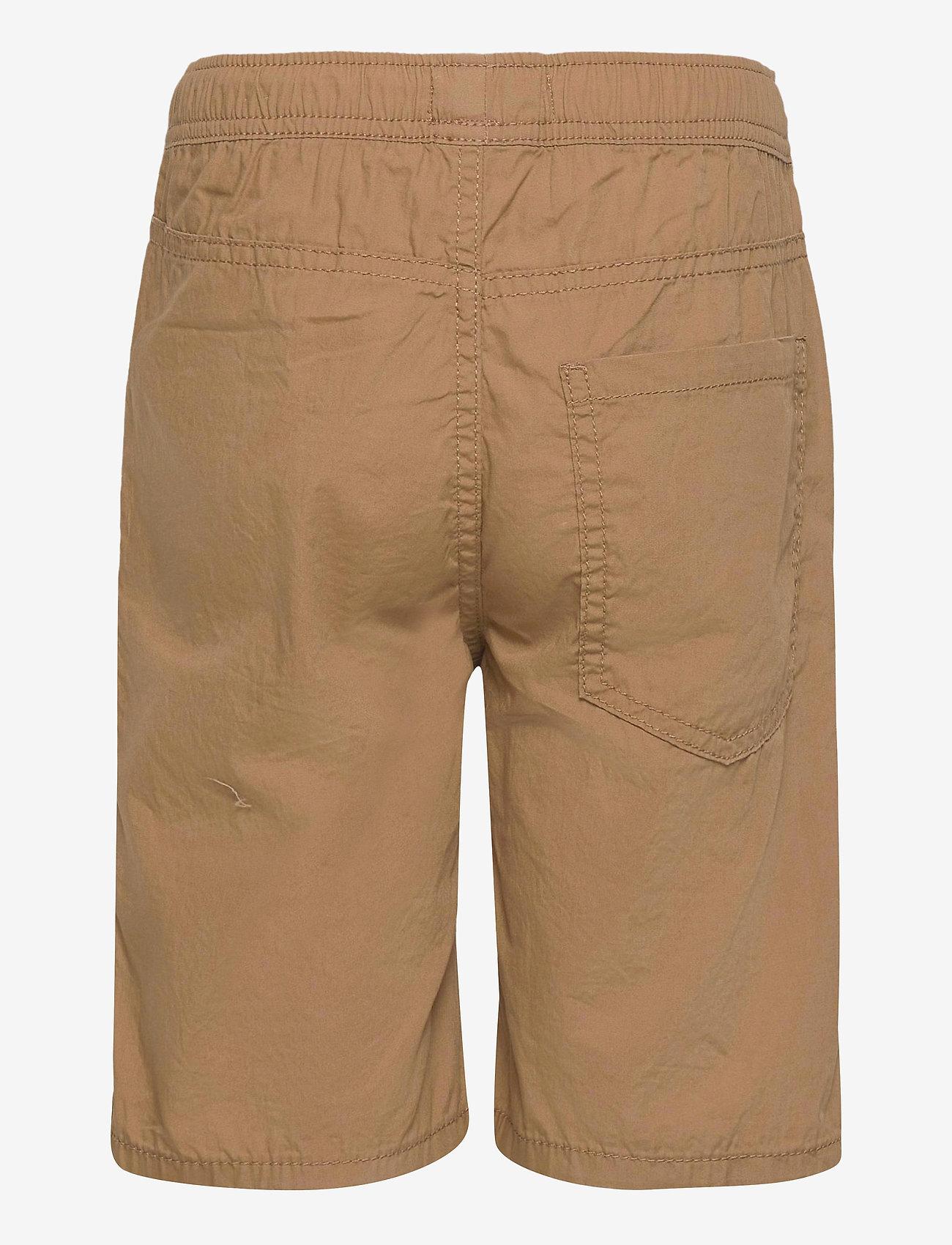 Lindex - Shorts Summer poplin - shorts - khaki - 1