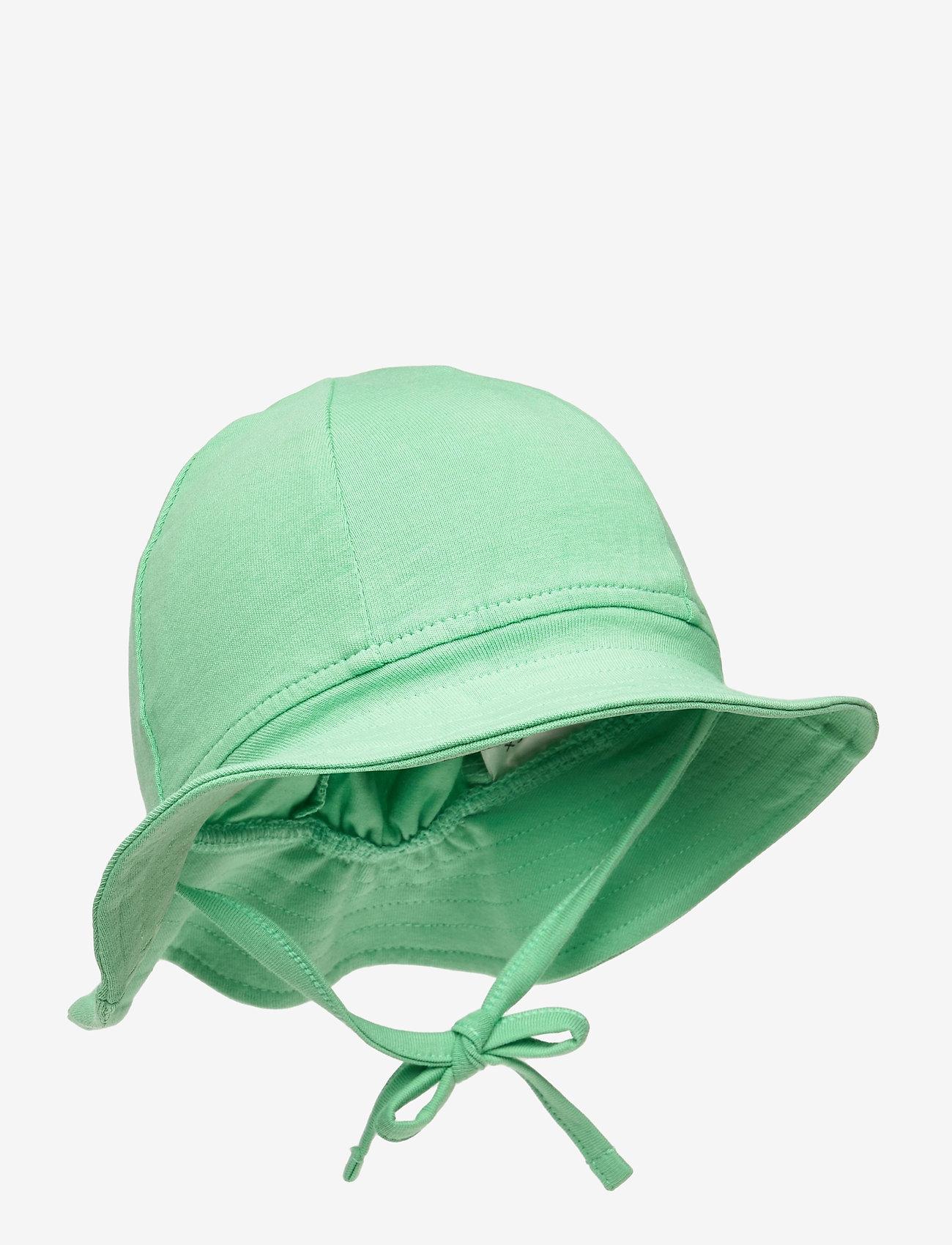 Lindex - Sun hat jersey - solhat - green - 0