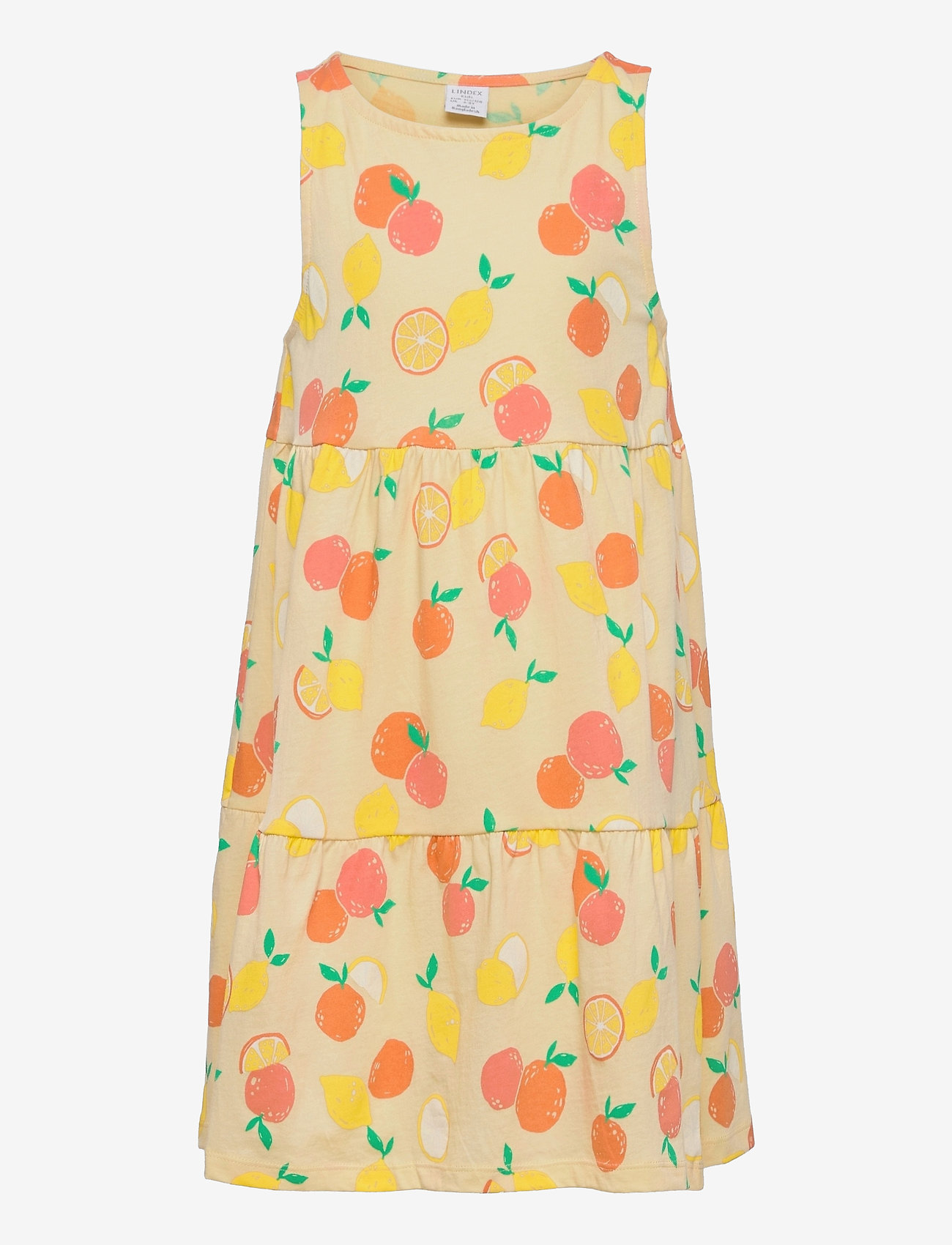 Lindex - Dress straps - kleider - yellow - 0