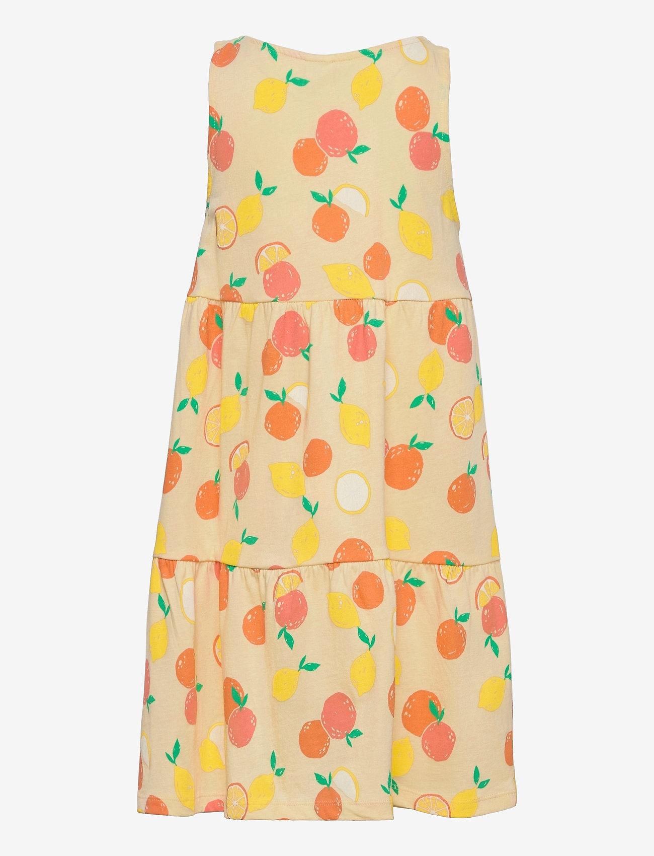 Lindex - Dress straps - kleider - yellow - 1