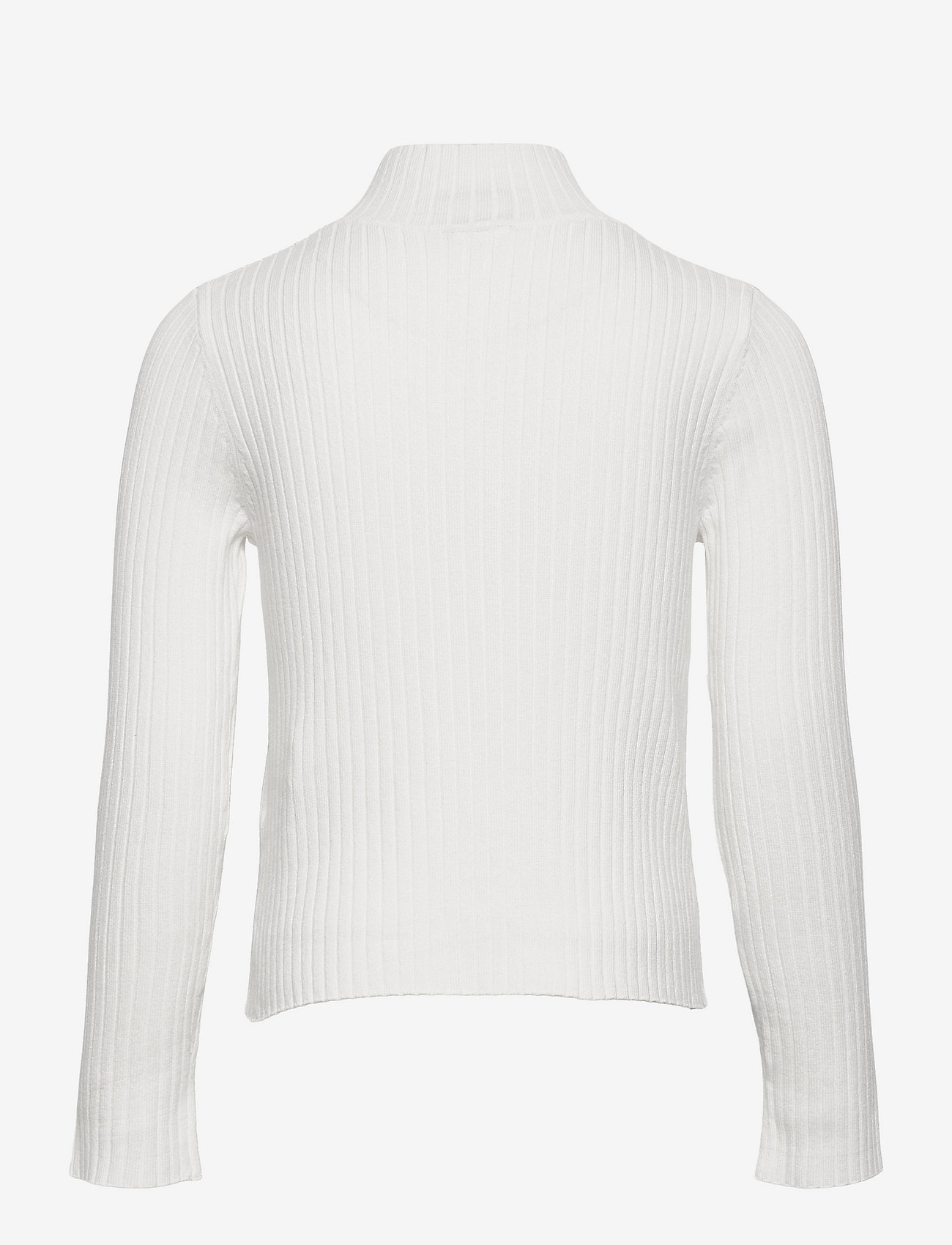 Lindex - Cardigan Vicky zip - gilets - white - 1