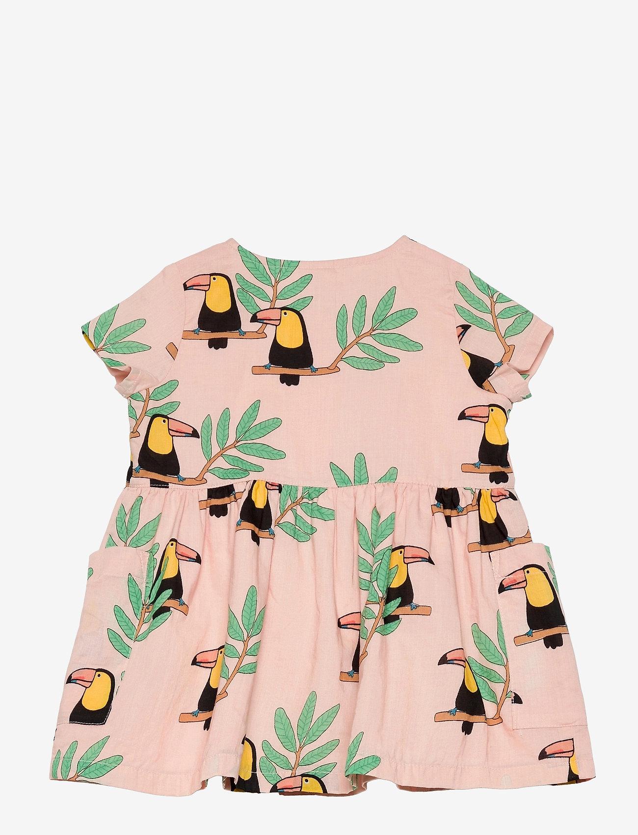 Lindex - Dress woven Toucan - jurken & rokjes - coral - 1