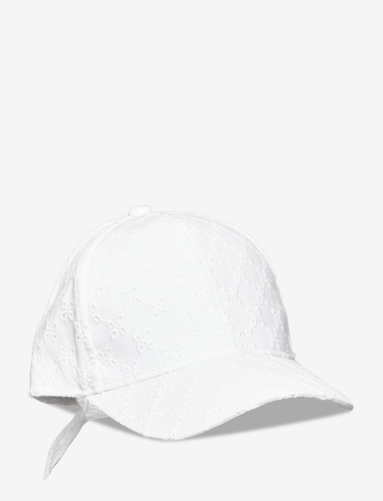 Lindex - Cap roundpeak emb anglaise - huer & kasketter - white - 0