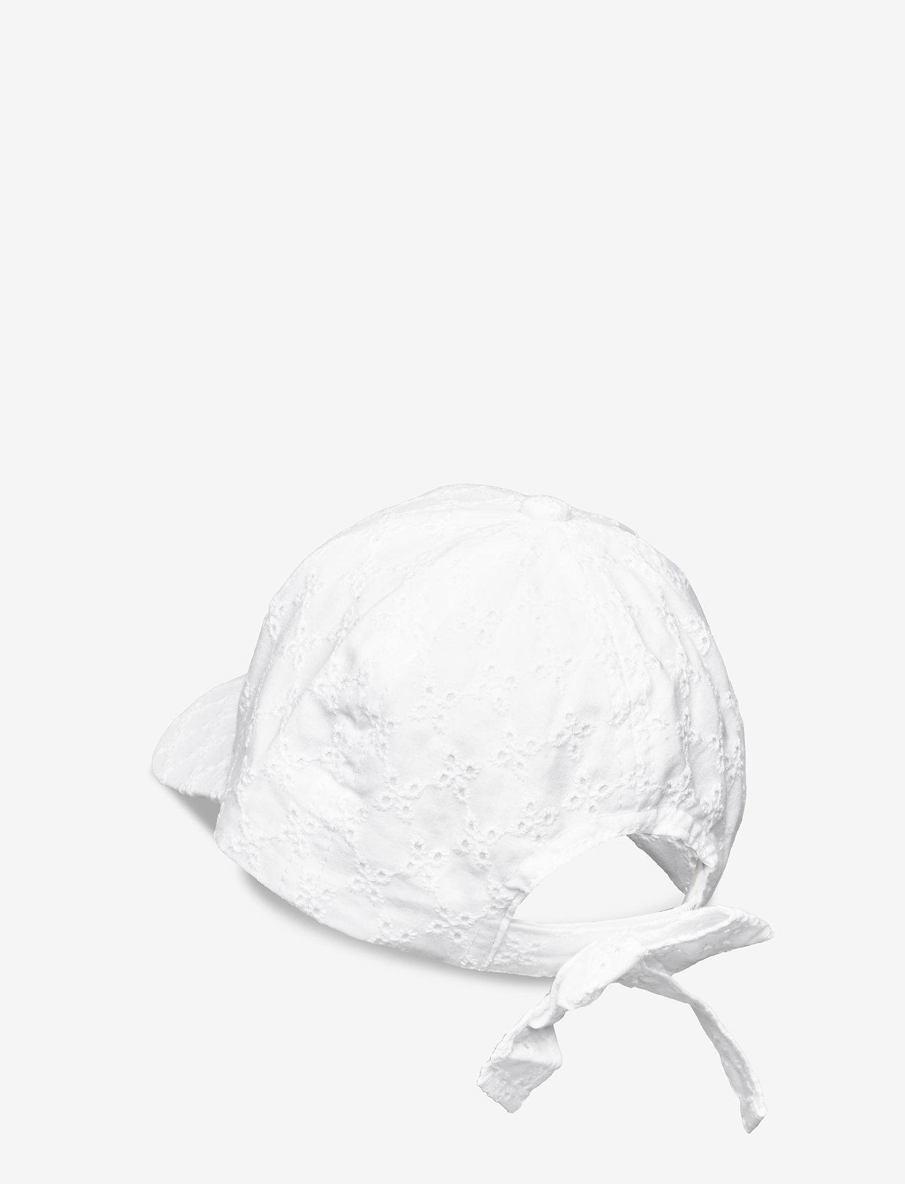 Lindex - Cap roundpeak emb anglaise - huer & kasketter - white - 1