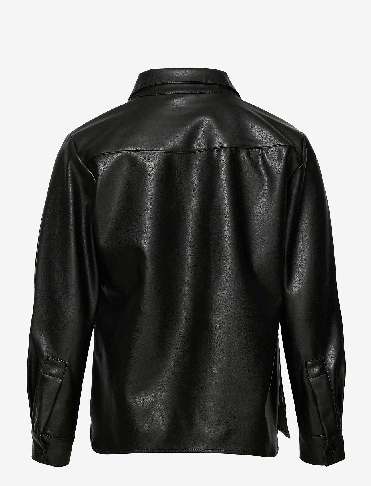 Lindex - Shirt Soho - shirts - black - 1