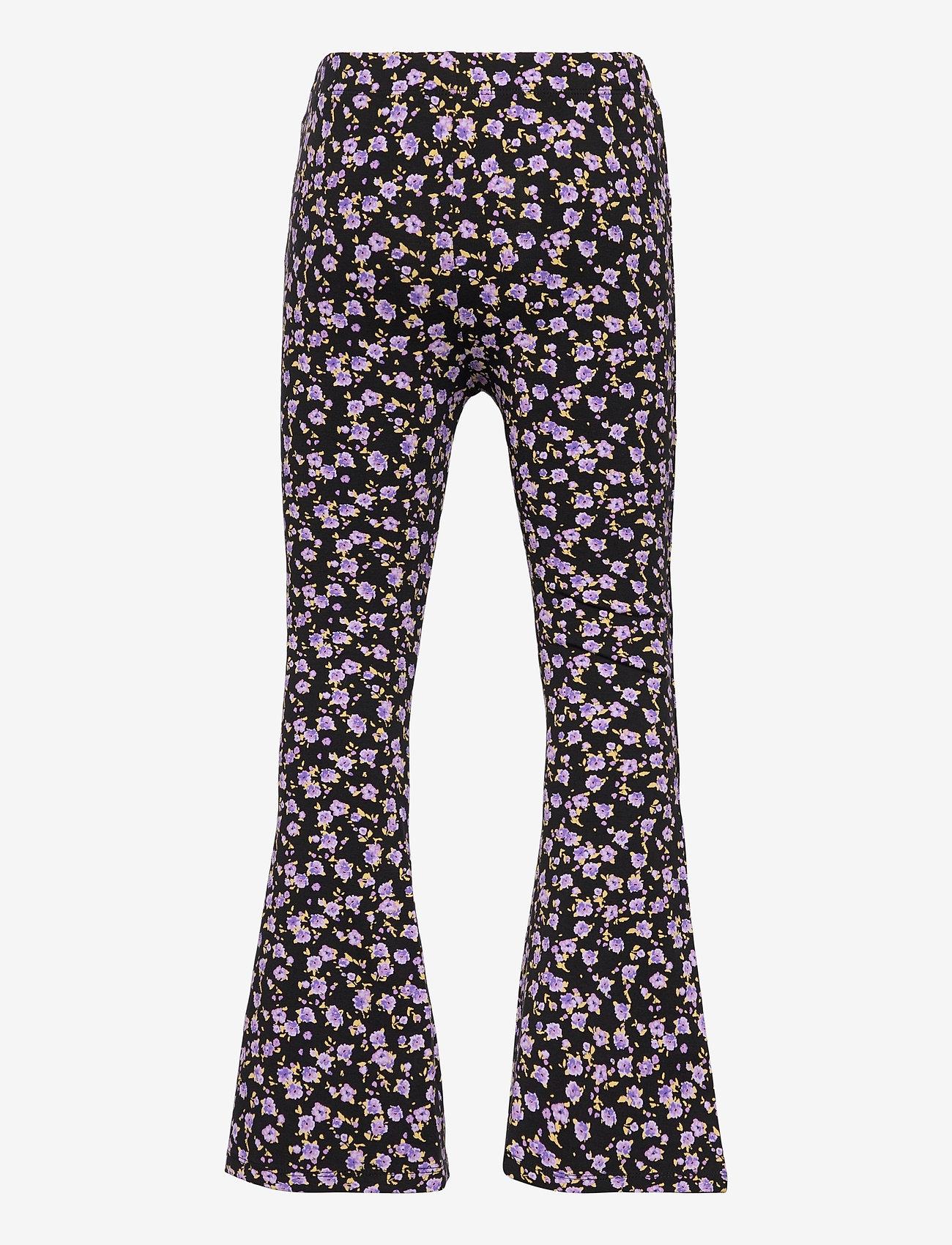Lindex - Trousers Carmen flares - trousers - black - 1