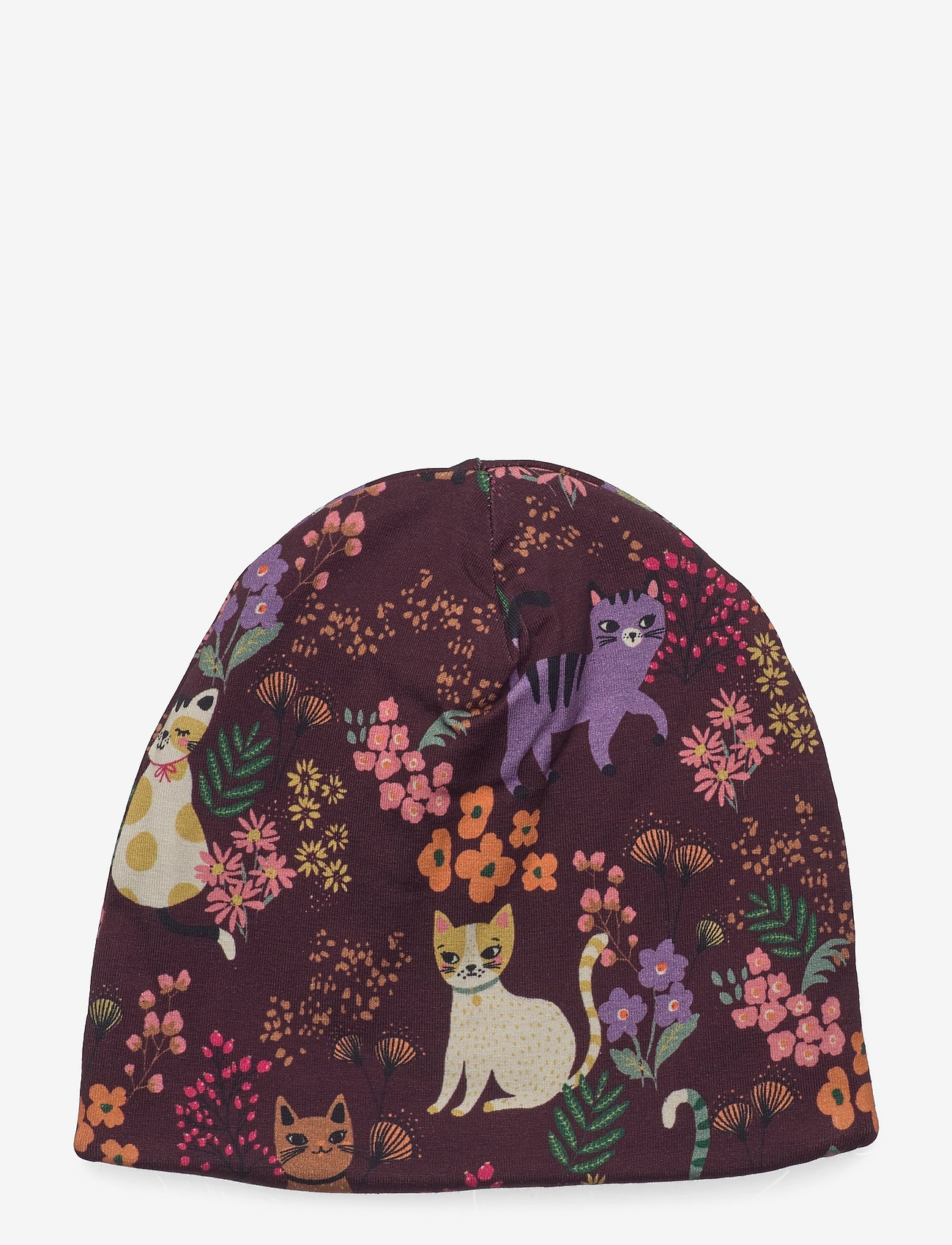 Lindex - Jersey beanie sweet cats - beanie - lilac - 0
