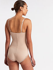 Lindex - Shaping Body Sandra Lace - toppe - beige - 3