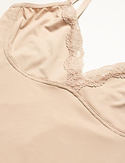 Lindex - Shaping Body Sandra Lace - toppe - beige - 7
