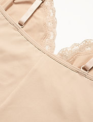 Lindex - Shaping Body Sandra Lace - toppe - beige - 8
