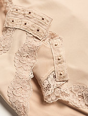 Lindex - Shaping Body Sandra Lace - toppe - beige - 9