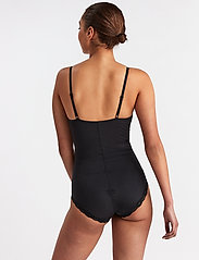 Lindex - Shaping Body Sandra Lace - tops - black - 3