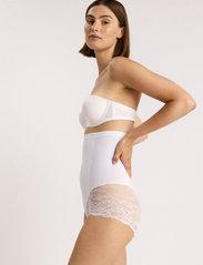 Lindex - Girdle Highwaist Kim Lace - bottoms - white - 3