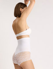 Lindex - Girdle Highwaist Kim Lace - bottoms - white - 4