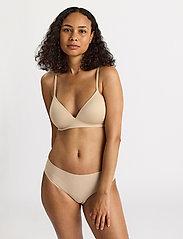 Lindex - Bra soft seamless Petite - non wired bras - beige - 0