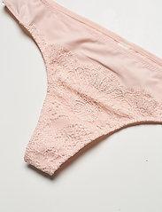 Lindex - Brief Nora Thong low fashion c - string - light pink - 2