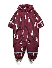 Padded overall - DK DUSTY RED