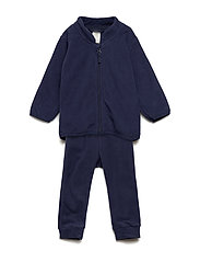 Set fleece jacket and trouser - DARK BLUE